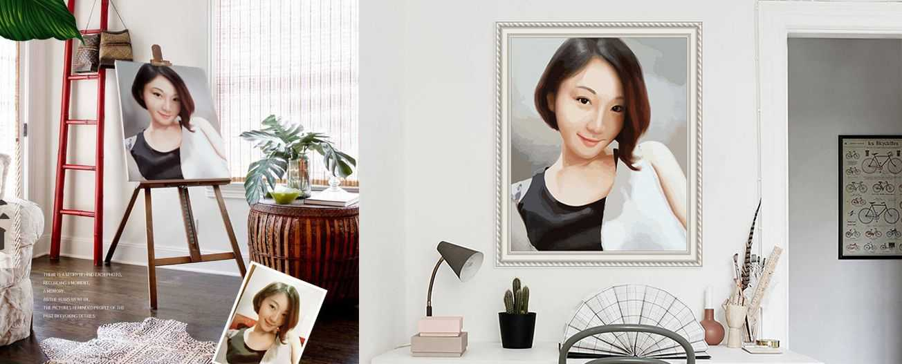 Personalized Painting by Numbers from your own photos