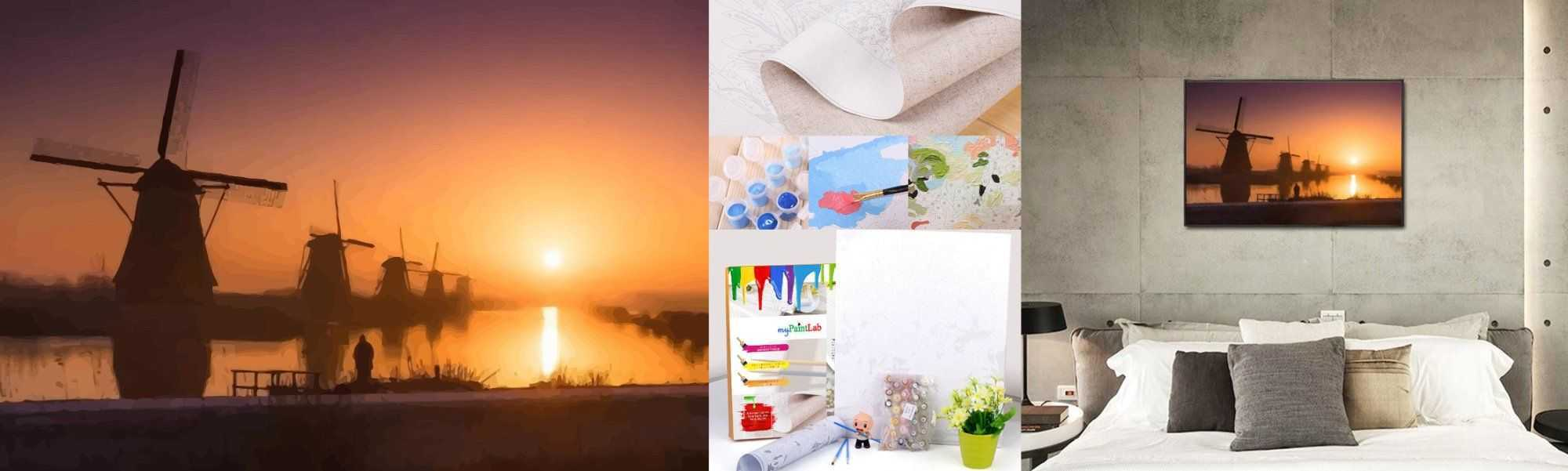 Customized Painting by Numbers kit for Tourism Industry in the Netherlands
